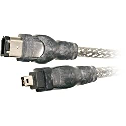 Belkin IEEE 1394 4-Pin/6-Pin 400 Mbps FireWire Cable (6 Feet)