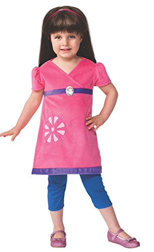 Rubie's Costume Baby Girl's Dora and Friends Toddler Dora Costume, Multi, Toddler