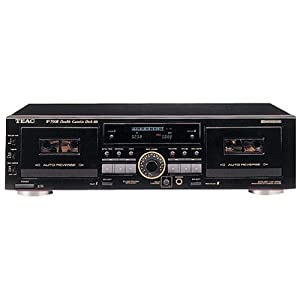Teac W790R Dual Auto-Reverse Cassette Deck with Pitch Control