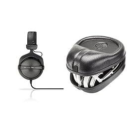 Beyerdynamic DT-770-PRO-32 Closed Dynamic Headphone Bundle with Headphone Case