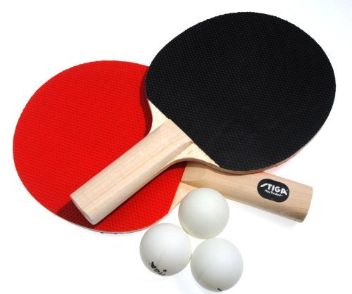 New Stiga Classic 2 Player Table Tennis Racket Set