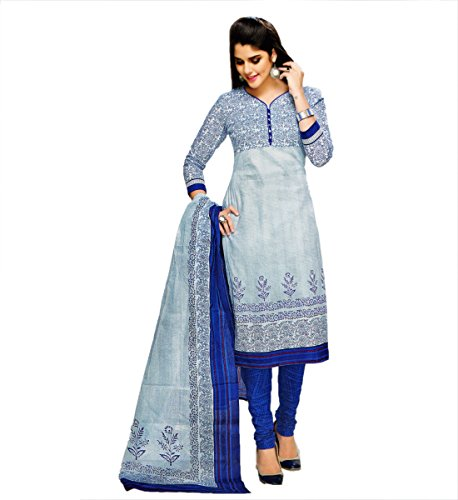 Miraan Cotton Dress Material / Chudidar Suit for Women ...