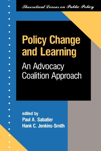Policy Change And Learning: An Advocacy Coalition...