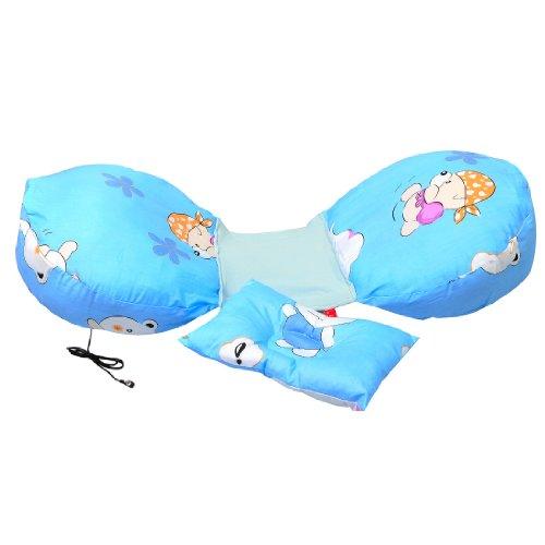 Leyun Cotton Pregnant Women Pillow Prenatal Education Pillow (Blue Piggy) front-327928