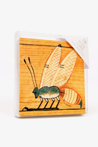 Bee Hieroglyph Notecards