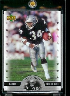 2005 Upper Deck Legends Bo Jackson Oakland Raiders Football Card #74 - Mint Condition - In Protective Display Case !! - Buy 2005 Upper Deck Legends Bo Jackson Oakland Raiders Football Card #74 - Mint Condition - In Protective Display Case !! - Purchase 2005 Upper Deck Legends Bo Jackson Oakland Raiders Football Card #74 - Mint Condition - In Protective Display Case !! (Upper Deck, Toys & Games,Categories,Games,Card Games,Collectible Trading Card Games)