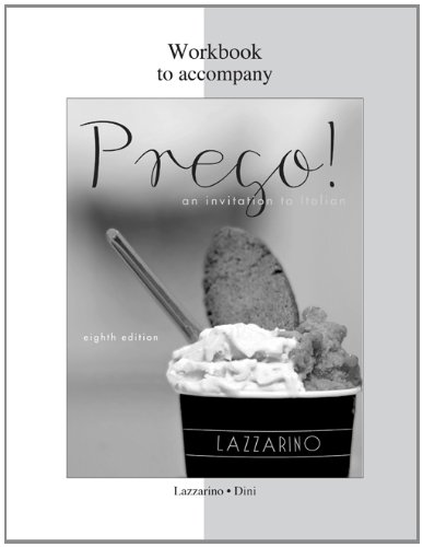 Workbook for Prego!