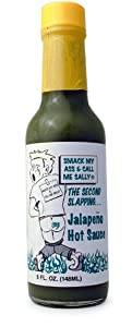 Smack My Ass And Call Me Sally Green Jalapeno Hot Sauce 5 Fl Oz by AmericanSpice.com