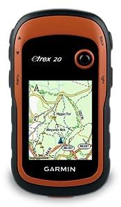 Garmin eTrex 20 Handheld GPS with TOPO UK and Ireland Light Map