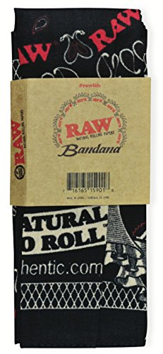 RAW-Natural-Rolling-Papers-Clothing-Bandana