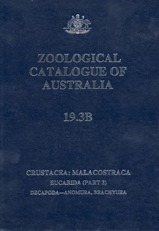 Zoological Catalogue of Australia (Zoological Catalogue of Australia Series) (Part 2)