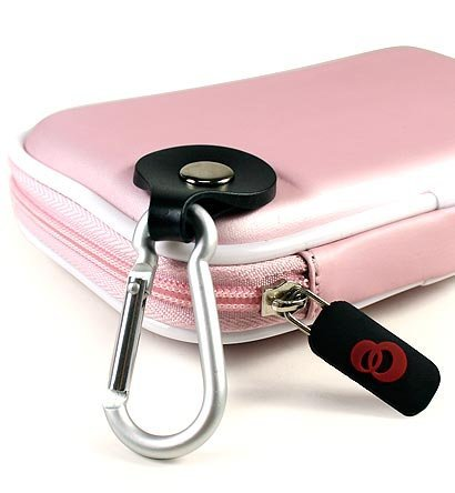 New Nintendo DSi / DS Lite EVA Carrying Hard Shell Case - BABY PINK