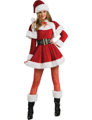 Santas Helper Adult Costume Sm Adult Womens Christmas Costume