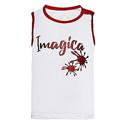 Girls Imagica printed Sleeveless tshirt