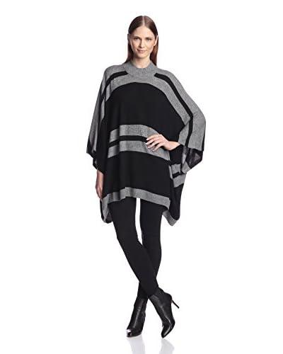 Acrobat Women's Striped Poncho Sweater