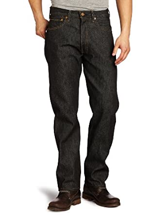 Levi's Men's 501 Shrink To Fit Jean, Black STF, 28x32