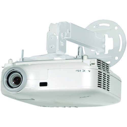 Peerless PPB-W Projector Ceil-Inchesg/wall Mount 17.2 to 25.2-Inches Adjustable Extension (White)