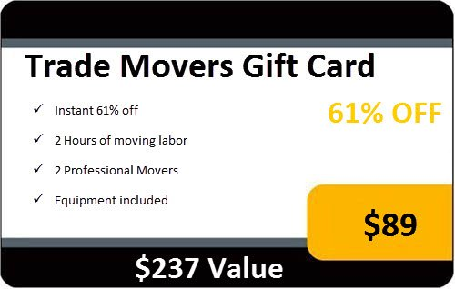 2 Hours Of Moving Labor Services By Trade Movers front-759030