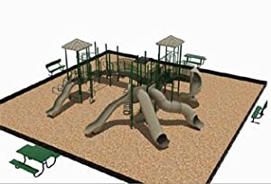 Thomas II Modular Playground 3.5 Inch Posts