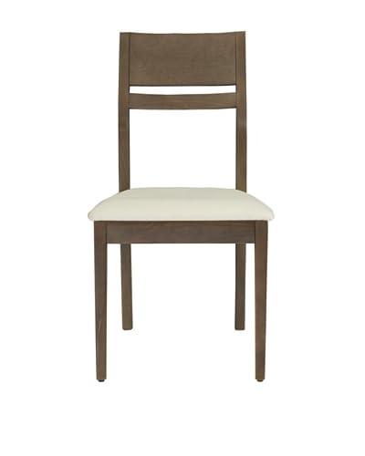 Urban Spaces Pisa Side Chair, Grey