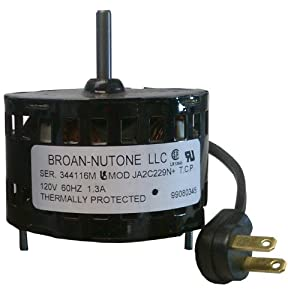 Broan S99080517 Bathroom Fan Motor by Broan