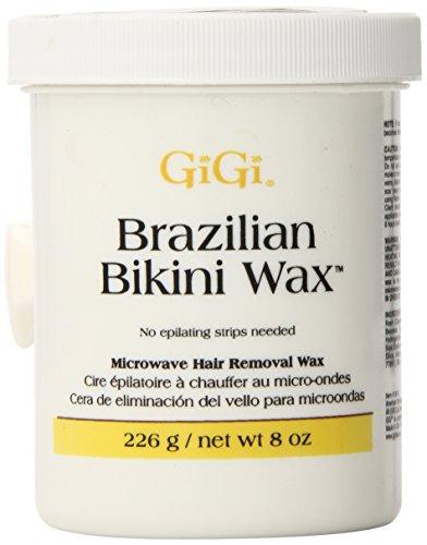 Gigi Brazilian Bikini Wax Microwave Formula, 8 Ounce (Bikini Wax compare prices)