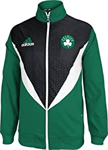 Boston Celtics Adidas 2013 NBA Resonate Performance Jacket by adidas