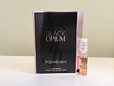 Yves Saint Laurent Black Opium, Sample Size,0.04 Ounce