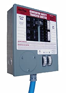 GenTran 3028 8-Circuit 30 Amp Transfer Switch For Up To 7500-Watt Generators (Discontinued by Manufacturer)