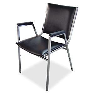 Wholesale CASE Of 2 Lorell Plastic Arm Stacking Chairs Stackin