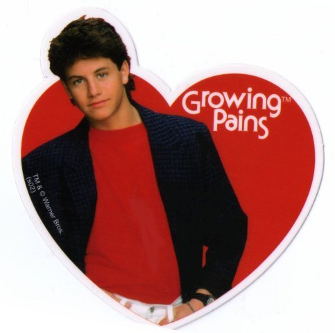 Growing Pains Mike Seaver Heart Sticker