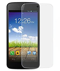 Quantric Tempered Glass for micromax canvas fire q411 [Cutout for Proximity Sensor], 0.3mm thickness, 9H Hardness, 2.5D Curved Edge, Reduce Fingerprint, No Rainbow, Bubble Free & Oil Stains Coating with Alcohol wet cloth pad & clean micro fibre Dry cloth, Anti Explosion Tempered Glass Screen Protector for micromax canvas fire q411