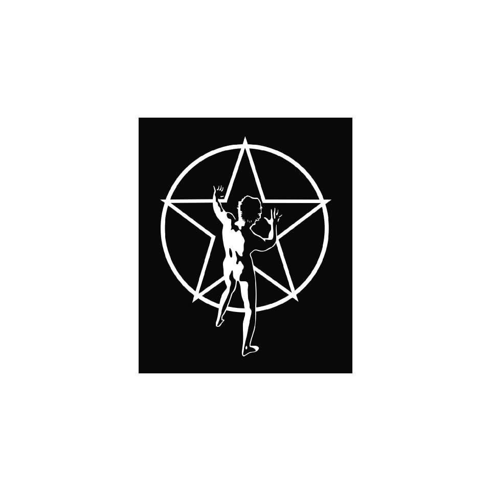 Rush Star Man Die Cut Vinyl Decal Sticker 6 White