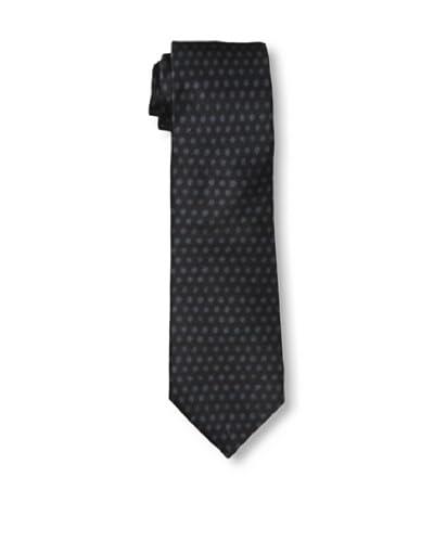 Armani Collezioni Men's Soft Dots Tie, Black