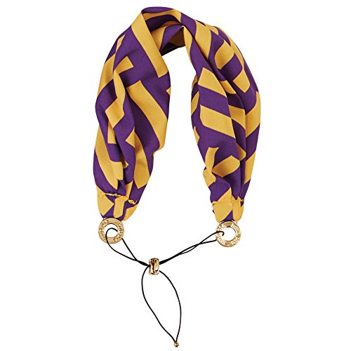 Purple and Gold Wide Bandana Headband Head Wrap (Mud Pie Scarves compare prices)