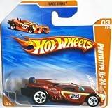 2010 Hot Wheels (ホットウィール) Red PROTOTYPE H-24 #67/214, Track Stars #3/12 (Short Card) ミニカー ダイキャスト 車 自動車 ミニチュア 模型 (並行輸入)