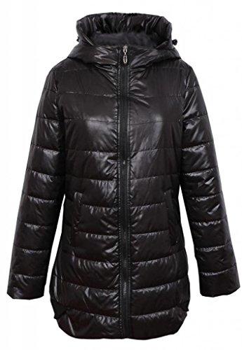 Женское стеганое пальто из непромокаемой…
