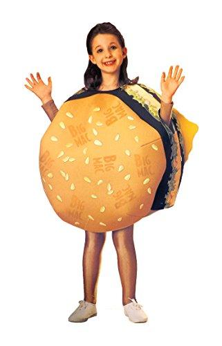 mcdonald child big mac cheeseburger halloween costume medium
