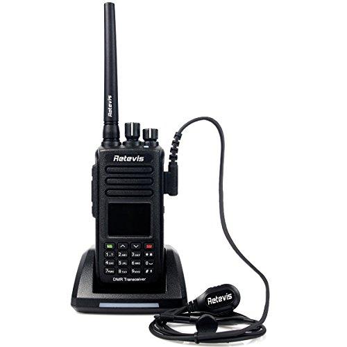 Retevis RT8 IP67 Waterproof DMR Digital Walkie Talkie GPS 1000 Canale Digitale/Analogica Mode(RT8 UHF 400-480Mhz)