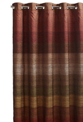 Hookless Stratum Snap-In Fabric Liner Fabric Shower Curtain