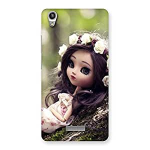 Delighted Angel And Tree Multicolor Back Case Cover for Lava-Pixel-V1