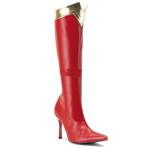 Wonder-130 (9) Womens Red Boots (Wonder Woman Boots)