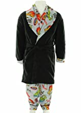 Boy's Bunz Kidz Racing Robe and Pajama Set