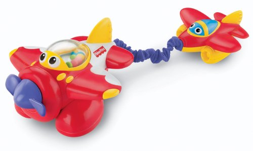 Fisher-Price Lil' Zoomers Tug and Rumble Airplane - 1