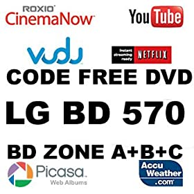 LG DVD BLU RAY Player