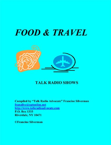 Directory of Food and Travel Talk Radio Shows