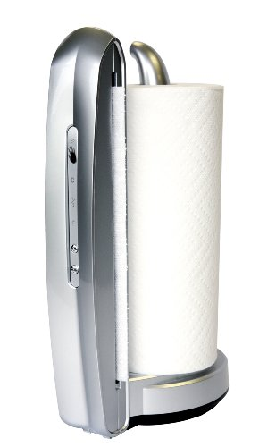 iTouchless TM002S Towel-Matic II Sensor Paper Towel Dispenser Holder (Metallic Silver)