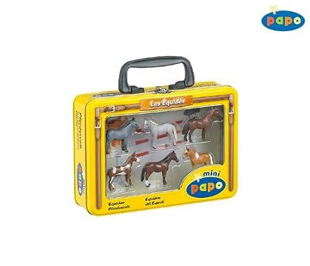 Papo - 33003 - Figurine - Mini Chevaux 2