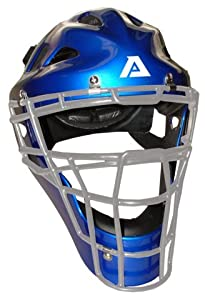 Akadema - Phelmet.Black.L - Praying Mantis Hockey Catchers Mask Black Large by Akadema