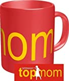 : Rahmenlos Kaffeebecher - Germany´s top mom - Fun Tasse Geburtstag Mutter Muttertag